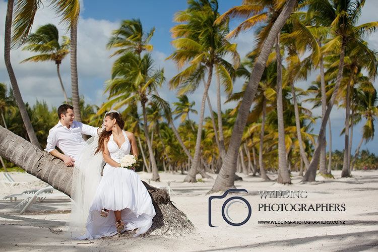 Island wedding.